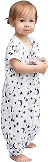 TADO MUSLIN Organic Cotton Baby Sleep Sack,Muslin Toddler Wearable Blanket with Legs,Sleep Bag for Bid Kids