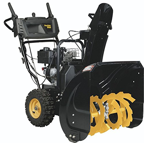 Best snowblower for gravel driveway:Poulan Pro Two-Stage Electric Start Snowthrower