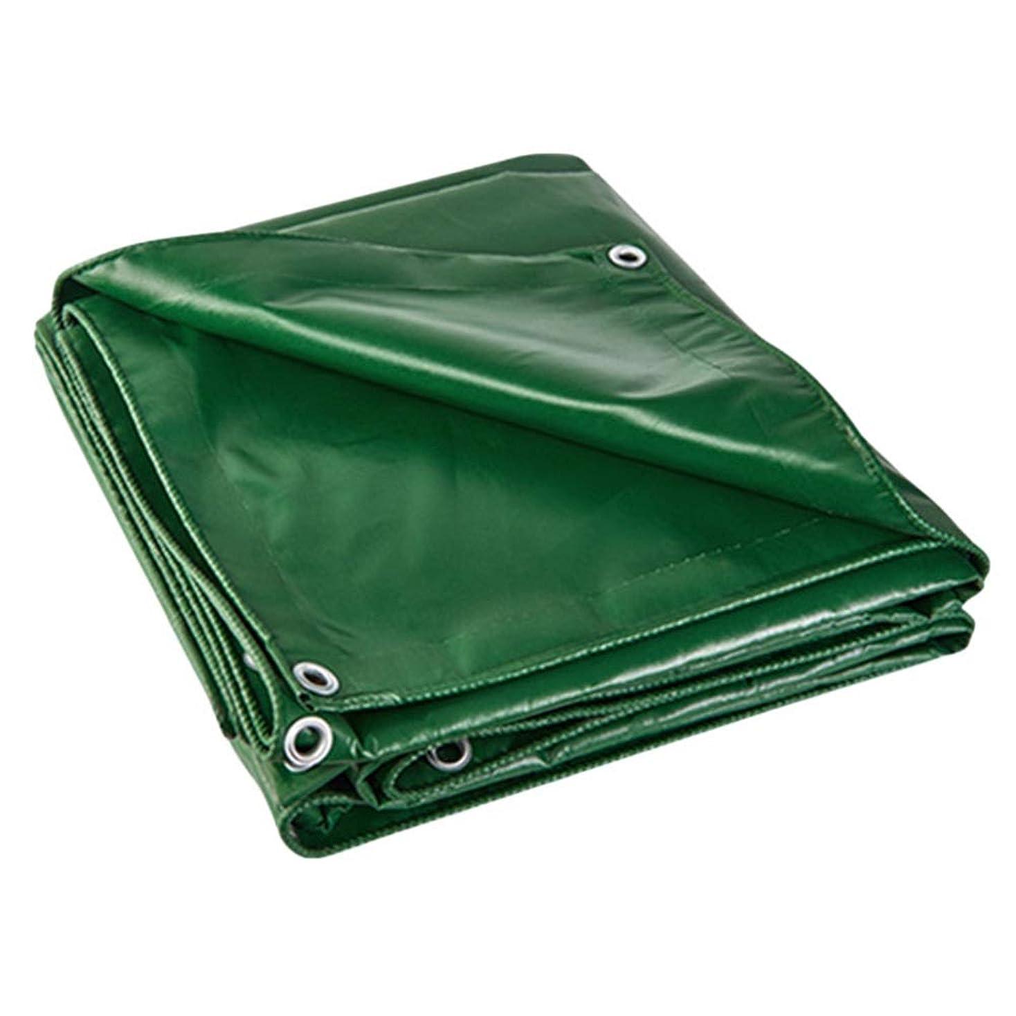 暗い歯科医遅いグロメット、ヤードのトラックのキャンプの屋根のプールカバーが付いている緑の防水シートポリ塩化ビニール防水、頑丈な防水シート (Color : 3M×3M)