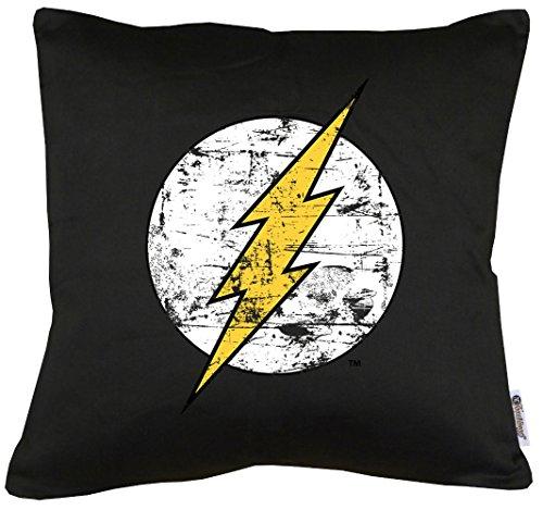 Cojín de Flash con relleno. Fondo negro