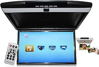 Monitor de carro de 17 polegadas/reprodutor de vídeo 1080P,Car Overhead Player com LCD,com USB/SD/TF/porta HDMI, 12V / 24V...