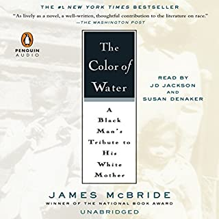 The Color of Water audiobook cover art
