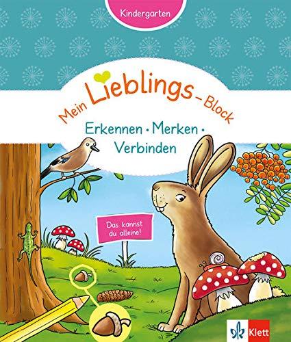 Klett Mein Lieblings-Block ...Erkennen, Merken, Verbinden: Kindergarten ab 3 Jahre. Das kannst du alleine!: Kindergarten ab 3 Jahren. Das kannst du alleine!
