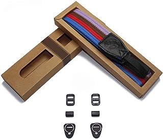 رشاقته خمر لينة قابل للتعديل كاميرا حزام الرقبة الكتف، حزام حزام الكاميرا العالمي لكاميرا DSLR الرقمية (Color : AC 17)