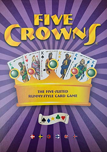 Enigma - Five Crowns - The Five-Suited Rummy-Style Card Game