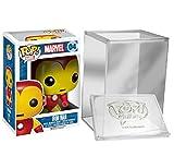 Funko Pop: Marvel: Iron Man - Collectible Action Figure+ FUNKO PROTECTIVE CASE