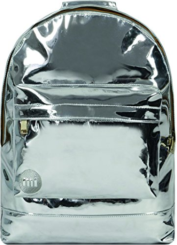 Mi-Pac Gold Backpack Mochila Tipo Casual, 41 cm, 17 Litros, Mirror Silver