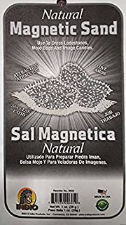 Magnetic Sand NATURAL SAL MAGNETICA (Lodestone Food) 1 oz OR 28.3g from: Hibiscus Express