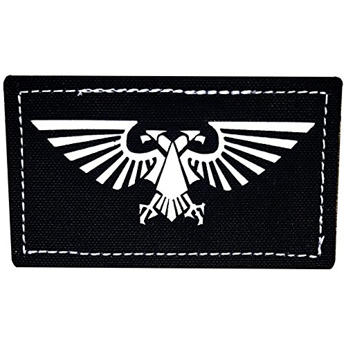 Patch Panel The Imperial Aquila PVC Tactical Morale Patch - Perfect Hook Backed Patches to be Added to Uniforms, Jackets, Backpacks