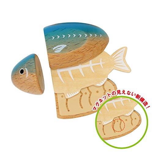 ウッディプッディはじめてのおままごと焼き魚セットG05-1172