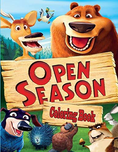 Open Season Coloring Book
