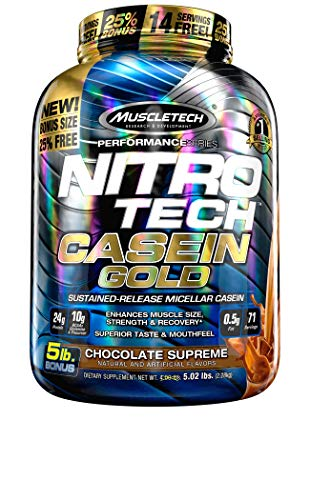 Muscletech Performance Series Nitro Tech Casein Gold Chocolate Supreme...