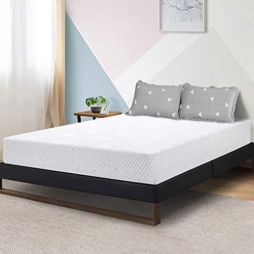 Olee Sleep 8-Inch Firm Ventilated Convolution Queen Memory Foam Mattress