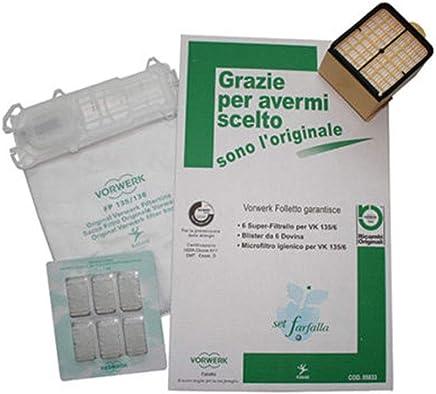 Set Farfalla Folletto Vk 135/136 Originale Vorwerk