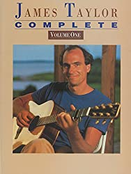 James taylor: complete volume one for piano, voice and guitar piano, voix, guitare