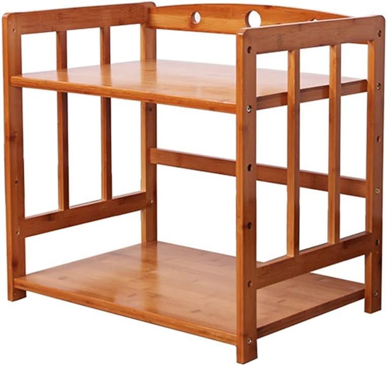 YCDJCS Max 72% OFF Microwave Toaster Regular discount Oven Shelf Rack Floor-Standing Kitchen