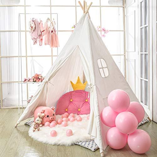 Wilwolfer Teepee Tent for Kids F...