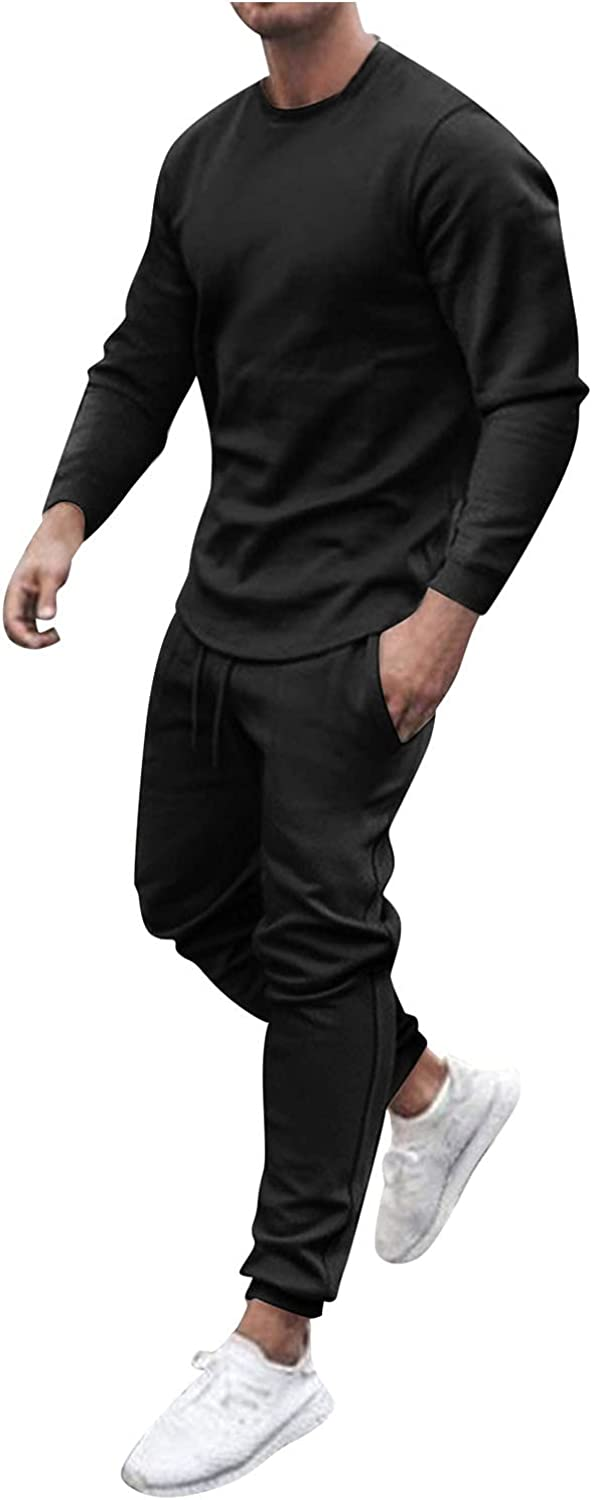 Zanjkr 2 Piece Outfits Summer Casual Round Neck Short/Long Sleeve T Shirts and Shorts Set Sport Tracksuit Sweatsuit Set