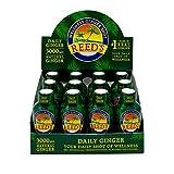 Reeds, Daily Ginger Shot, Great Tasting Wellness Ginger Shot for Immune Boosting Support (12-2oz Bottles)