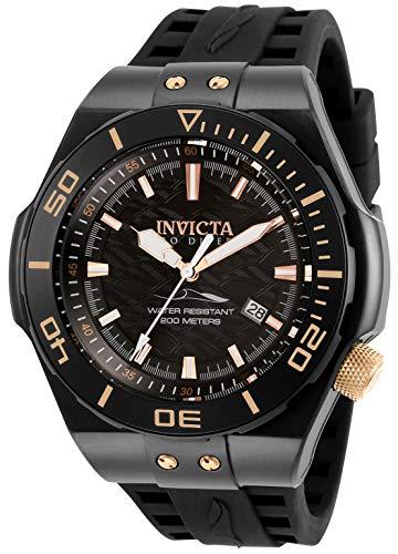 INVICTA Herren Automatik Uhr mit Silikon Armband 29499