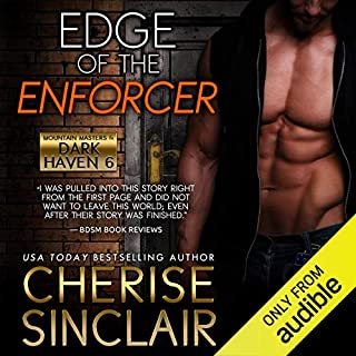 Edge of the Enforcer audiobook cover art
