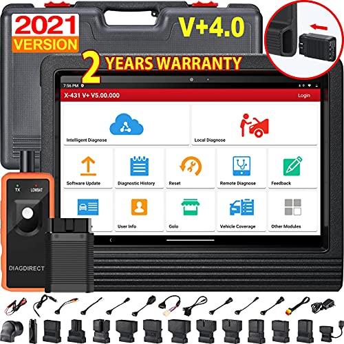 LAUNCH X431 V+ Tablet Herramienta Diagnóstico Profesional Multimarca OBD2 dbscar5 wifi bluetooth 7000 mAh 2 años Actualizaciones Software Idioma ESPAÑOL