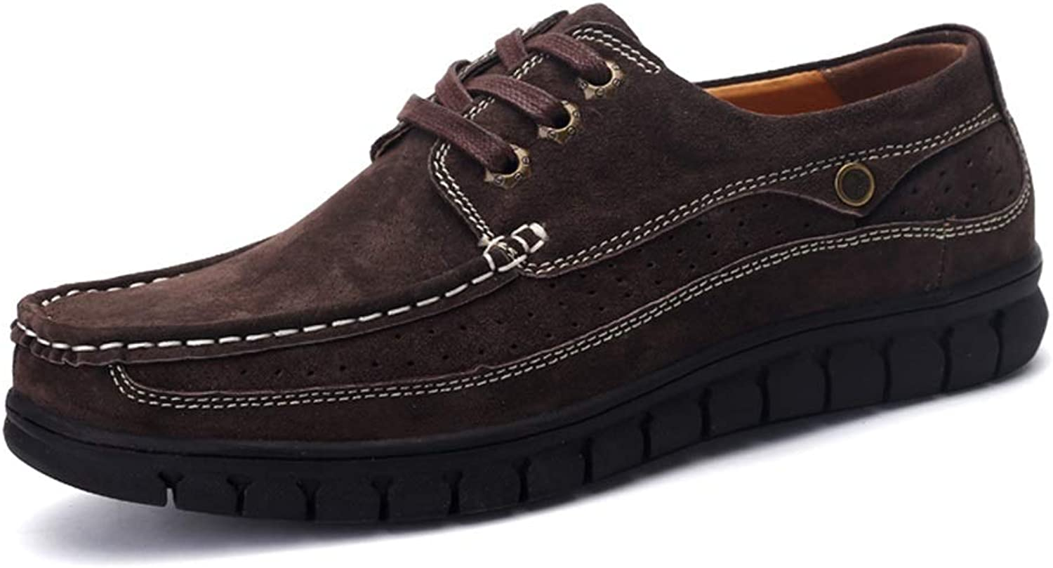 Ino Men's Fashion Oxford Casual Prosperous Classical Lace-up Work Leisure shoes