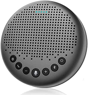 Bluetooth Speakerphone – eMeet Luna New AI Noise Redaction Algorithm Featured, Daisy Chain, USB Conference Speaker Phone ...