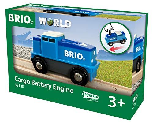 BRIO 33130 Blaue Batterie Frachtlok