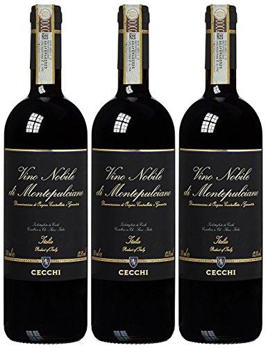 Casa Vinicola Cecchi Vino Nobile di Montepulciano DOCG  trocken rot 2011 (3 x 0.75 l)
