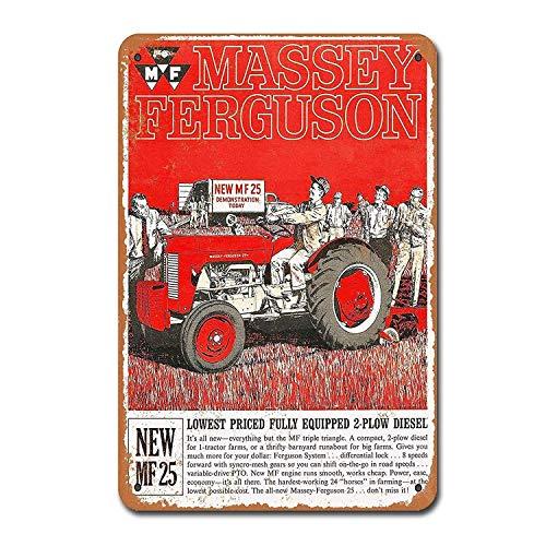 Ferguson 35 Gold Belly Publicité Rétro Vintage métal signe