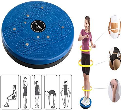 Acacia person della Vita di Torsione di Torsione Disco Consiglio Esercizio aerobico Fitness Riflessologia Magneti Balance Board Esercizio Attrezzature (Blu)