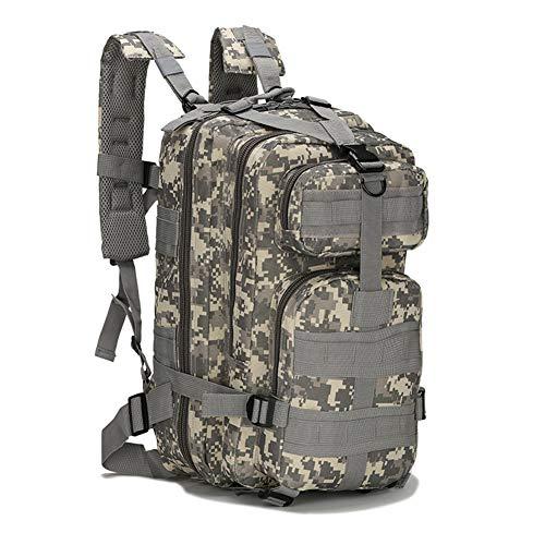 Alimagic Militär Rucksack, Tarnrucksack, Outdoor Tactical Sports Bergsteigen Oxford wasserdichte Camouflage Tasche Bergwandern Camping Wandern Multicolor Tasche (ACU Digital)
