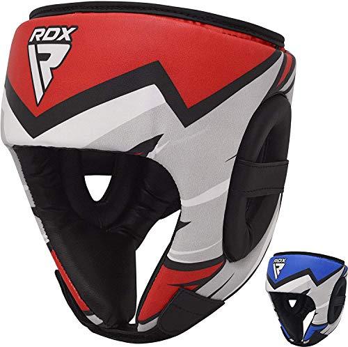 RDX Kopfschutz für Kinder, für Boxen, MMA-Training, Kopfschutz für Wangen, Stirn und Ohren, Kopfbedeckung für Muay Thai, Kickboxen, Sparring, Kampfsport, Helm, Karate, Taekwondo