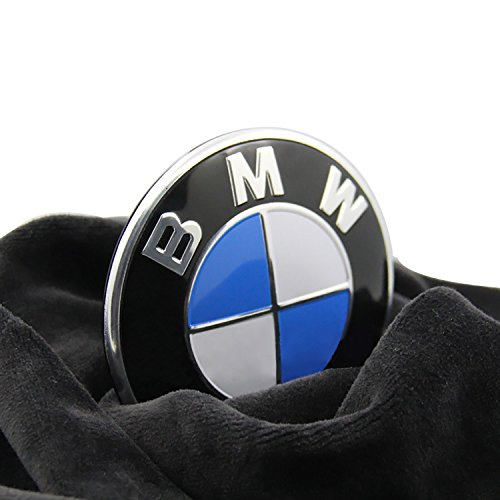 Trooer Emblem Logo Replacement for BMW Hood/Trunk 82mm for All Models E30 E36 E34 E60 E65 E38 X3 X5 X6 3 4 5 6 7 8