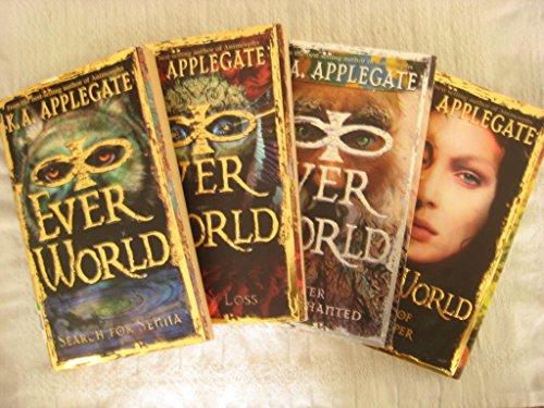 Everworld Set # 1 - 4 by K.A. Applegate