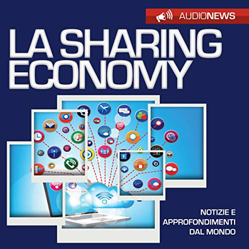 La sharing economy audiobook cover art