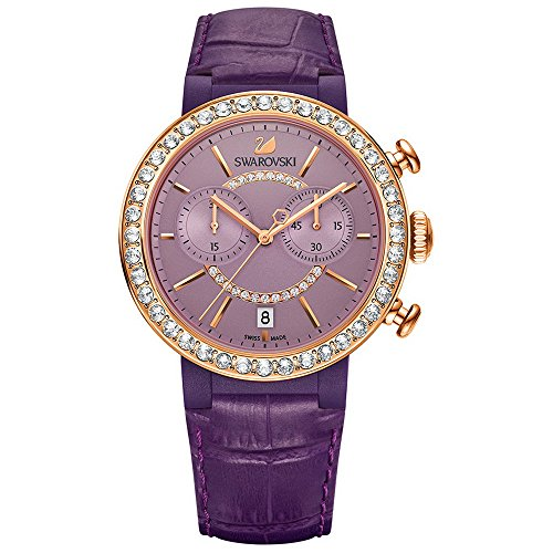Swarovski Citra esfera Chrono Reloj, violeta 5210211