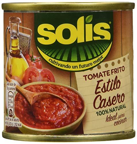 Solís Tomate Frito Estílo Casero - Paquete de 6 x 3 latas