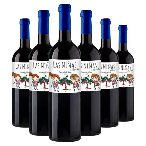 LAS NIÑAS - Vino Tinto Tempranillo & Syrah - Vino de la Tierra de Castilla- 6 botellas x 750 ml