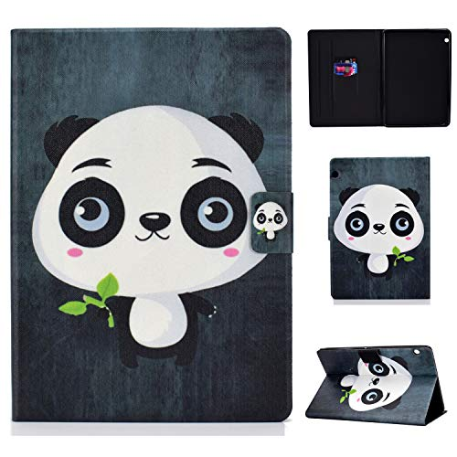 Bspring Funda Funda para Huawei MediaPad T5 10 (10.1 Inch) Funda, Funda Plegable Slim Smart PU Funda Funda para Funda Huawei MediaPad T5 10 - Gran Oso
