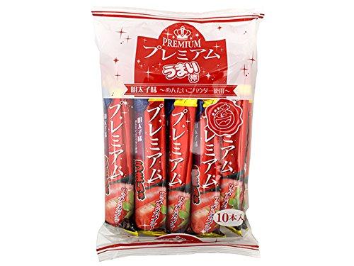 うまい棒 プレミアム 明太子 味 10本入り【特別品 うまいぼう】