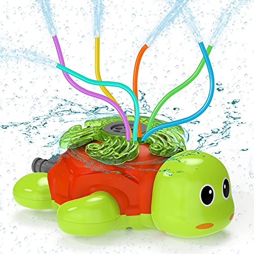 (45% OFF) Lawn Water Turtle Sprinkler $6.92 – Coupon Code