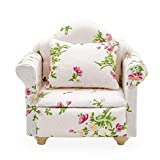Odoria 1/12 Miniatura Sofá Individual Sillón Muebles para Casa de Muñecas