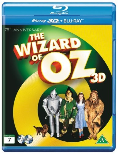 The Wizard Of Oz 75th Anniversary 3D +2D Blu Ray [Import] Blu Ray