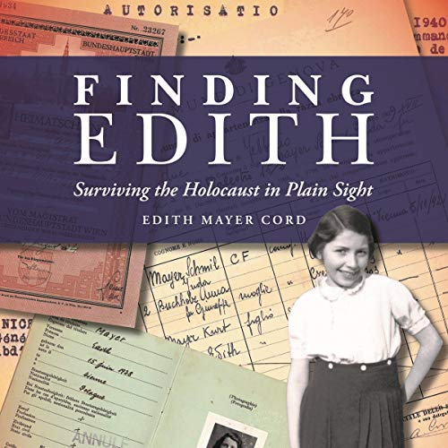 Finding Edith Audiobook By Edith Mayer Cord cover art