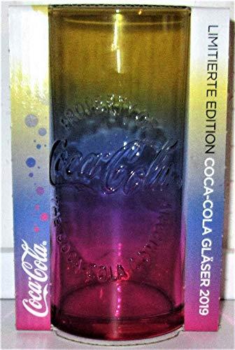 /Coca-Cola / Glas/Gläser/Limitierte Edition/RegenbogenGlas/Mc Donald's / 2019 / NEU