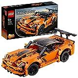 LEGO 42093 Technic Chevrolet Corvette ZR1 Modelo de Coche de Carreras 2en1 Set de Construcción para Niños +9 años