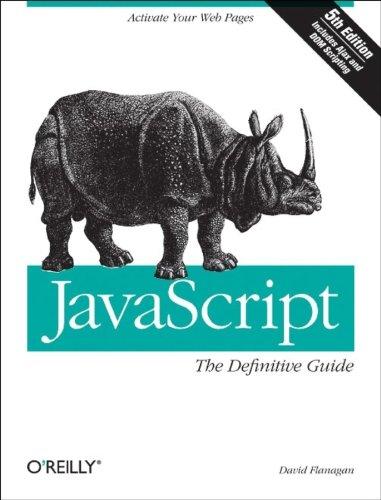 Javascript: The Definitive Guideの詳細を見る