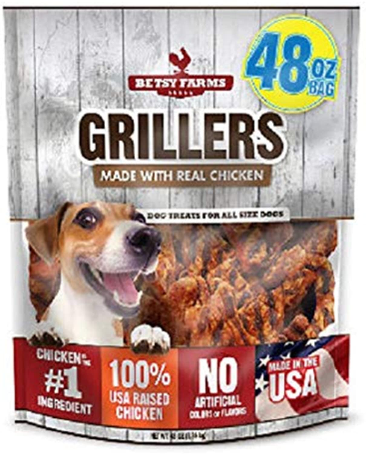 Betsy Farms Grillers Dog Treats (48 oz.) (Pack of 2)